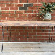 Handmade Maple Live Edge Table