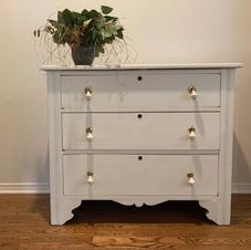 Refinished Antique Dresser Designed for Nursery