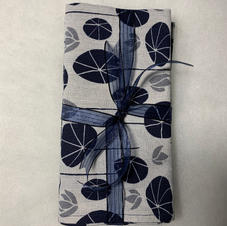 White and Navy Tea Towels