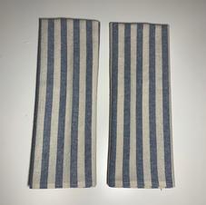 Essex Linen Tea Towel in Blue Stripe