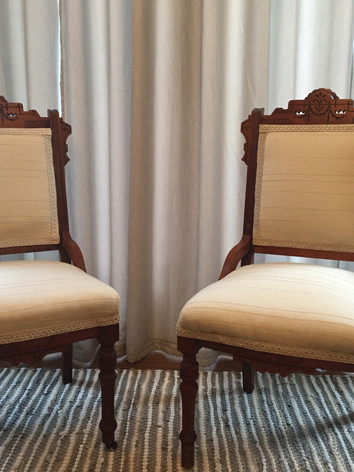 Regal Re-upholstered Chairs