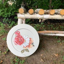 "Decorative Plate - 13"""
