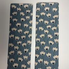 Essex Linen Tea Towel in Steel Blue