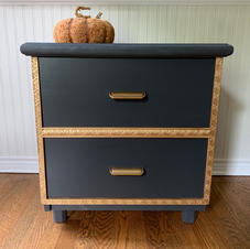 FOR SALE: Small Cabinet with Gilded Trim