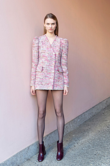 MALPICA TWEED JACKET DRESS