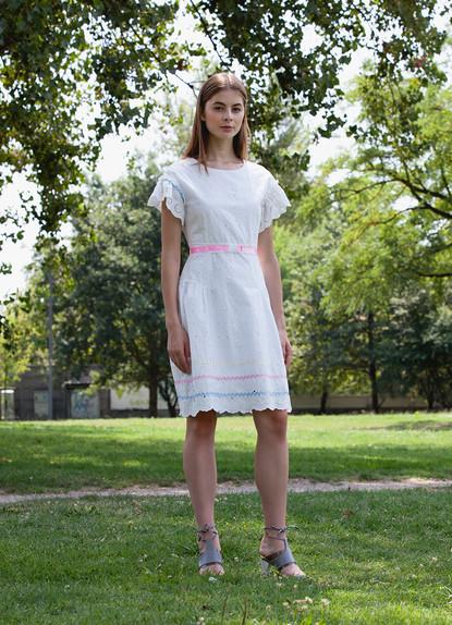 SANGALLO WAVE RIBBON DRESS