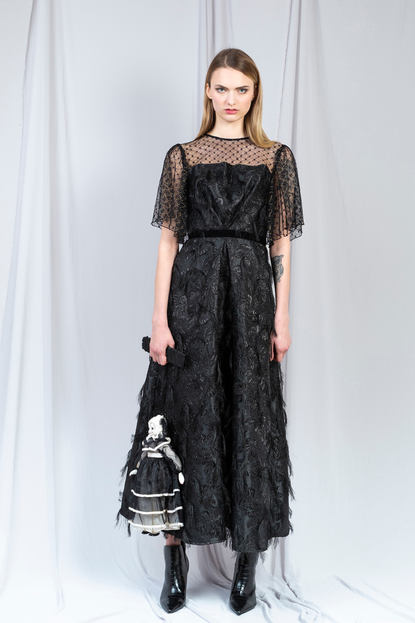 TRANSYLVANIA JACQUARD DRESS