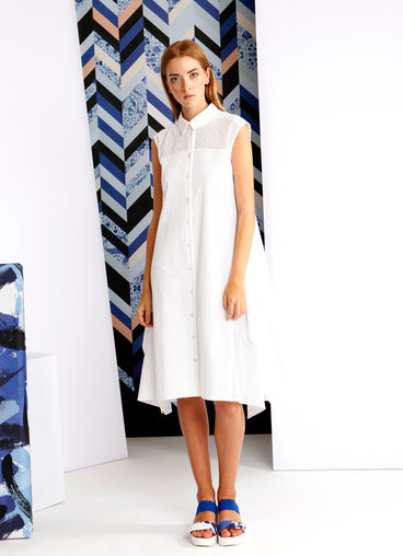 SANGALLO SHIRT DRESS