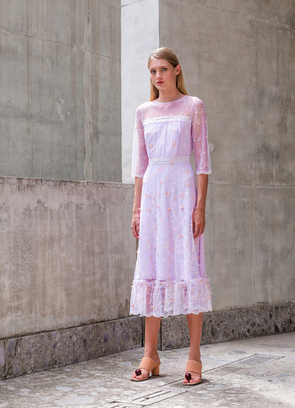 LOVE EMBROIDERY DRESS 2