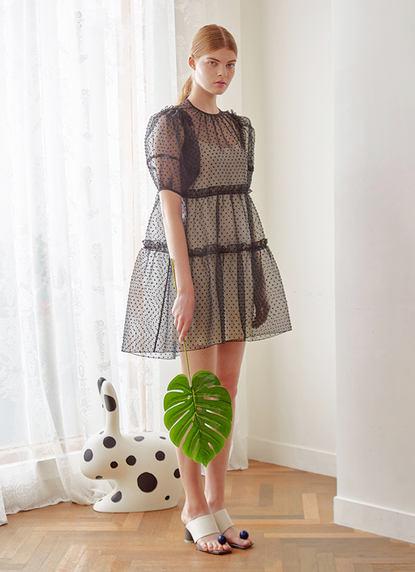 POP ORGANZA DRESS