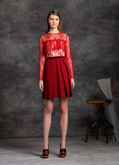 SOPHIE LACE EQUILIBRIO DRESS