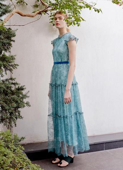BRIDGET CHANTILLY LACE DRESS