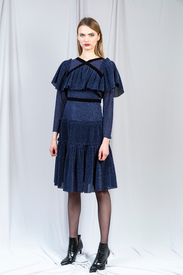 AFRO PLISSE' DRESS