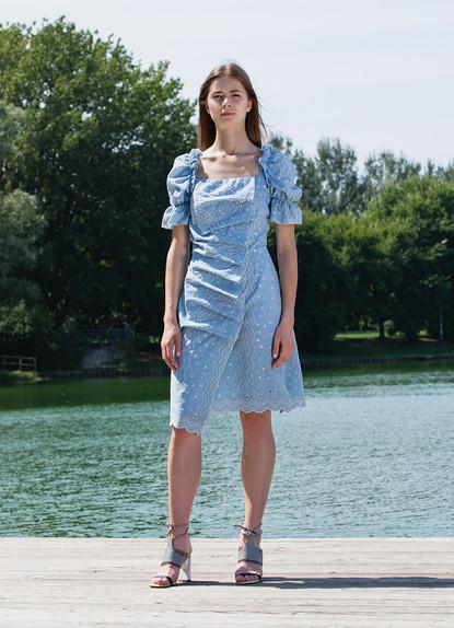 LINEN MONDAY THURSDAY DRESS