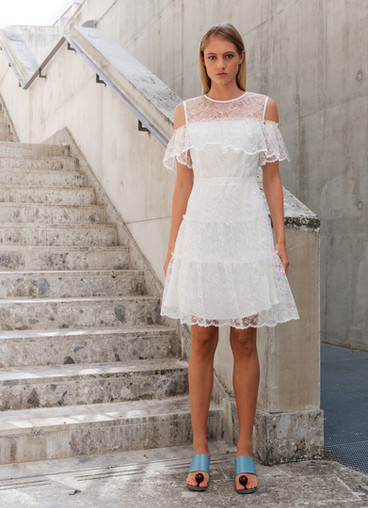 ESTATE CHANTILLY LACE DRESS 2