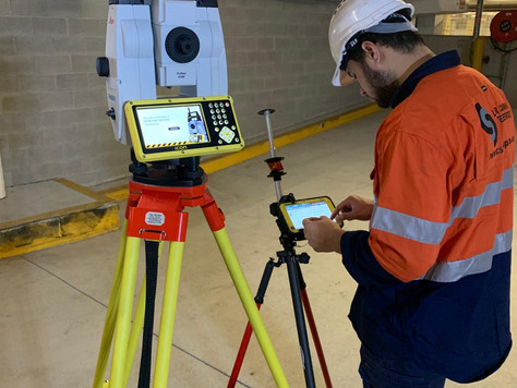 Laser scanning, digital set out ensure clash-free steel support