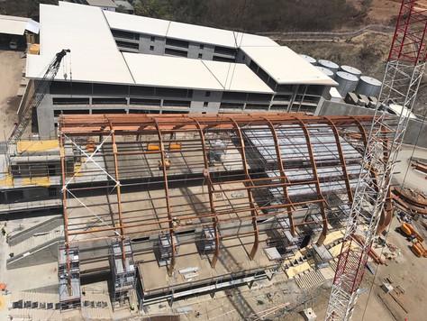 Hilton steel works at Papua New Guinea