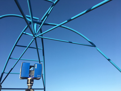 Scan to BIM completed for Dreamworld awning replacement