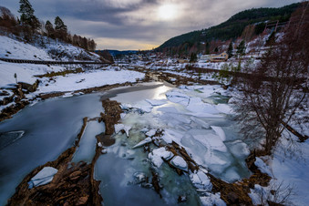 Tinnelven - the river to Notodden
