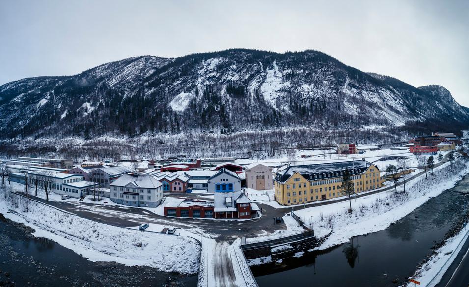 Rjukan Factory Architecture