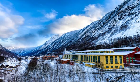 Rjukan Factory Area