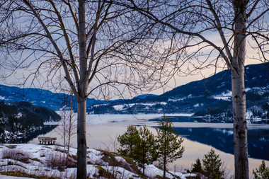 Heddal Lake
