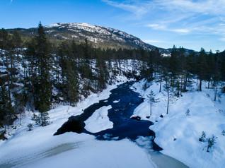 From the Skogsål Bridge