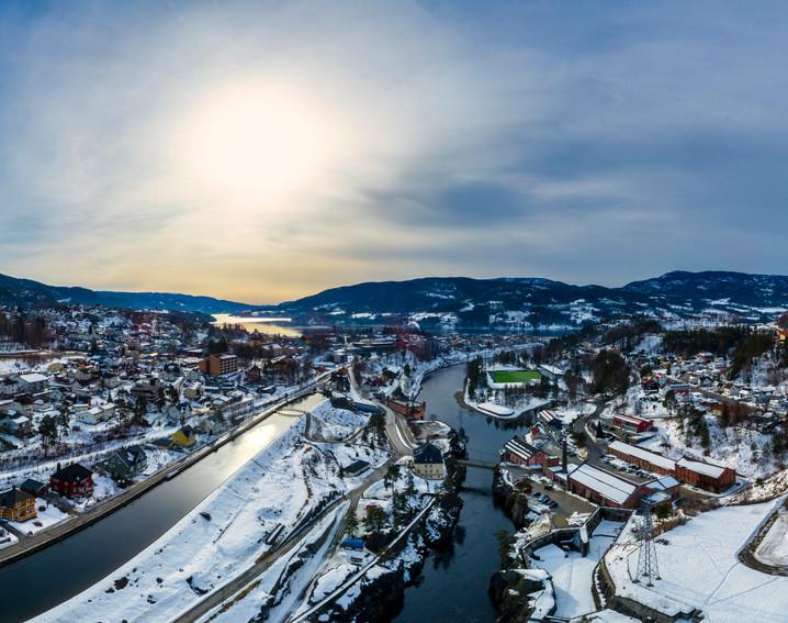 Telemark winter sun