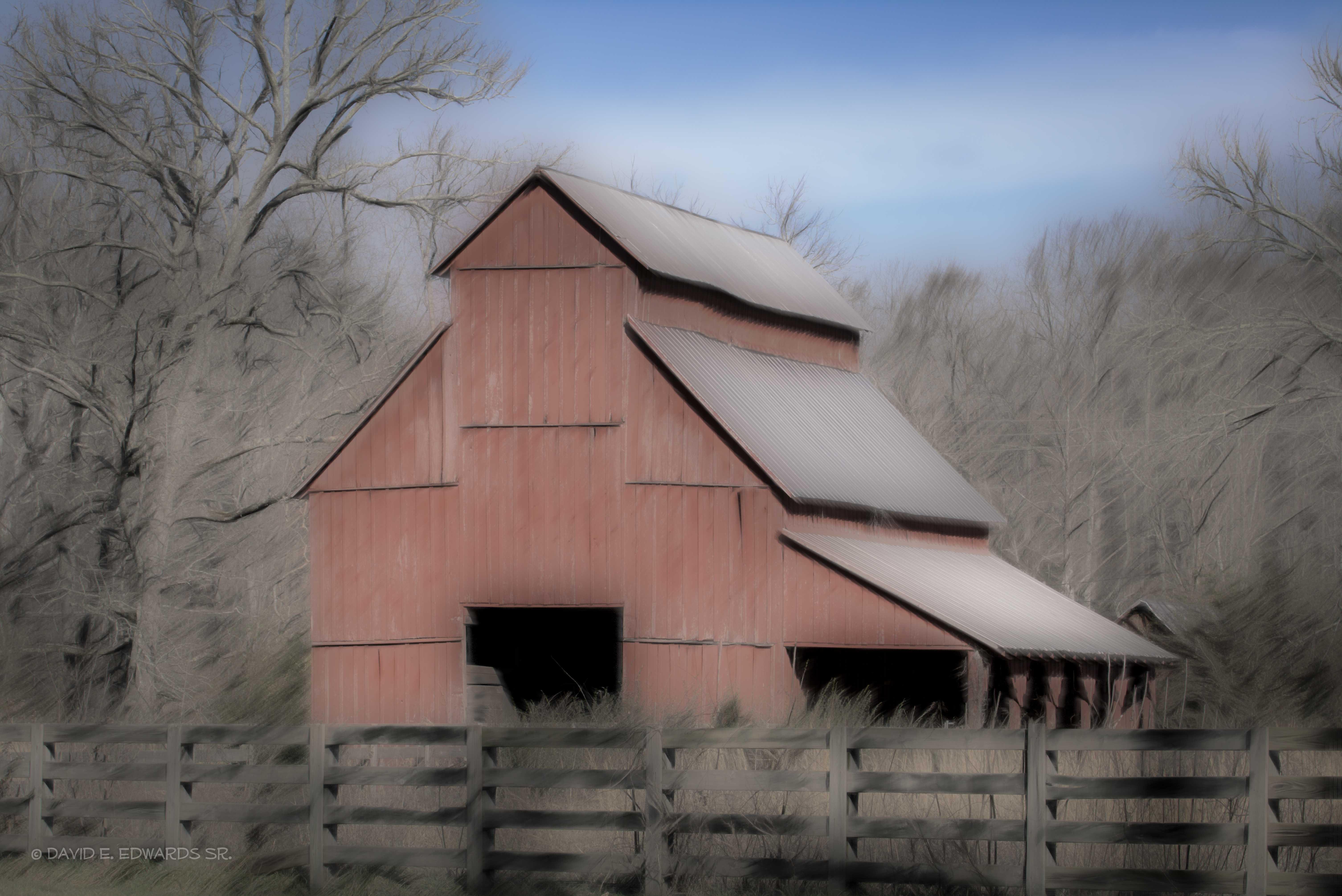 Old Red Barn-  Lynchburg, TN area