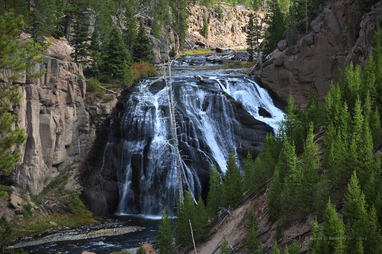 Waterfall- Yellowstone 1