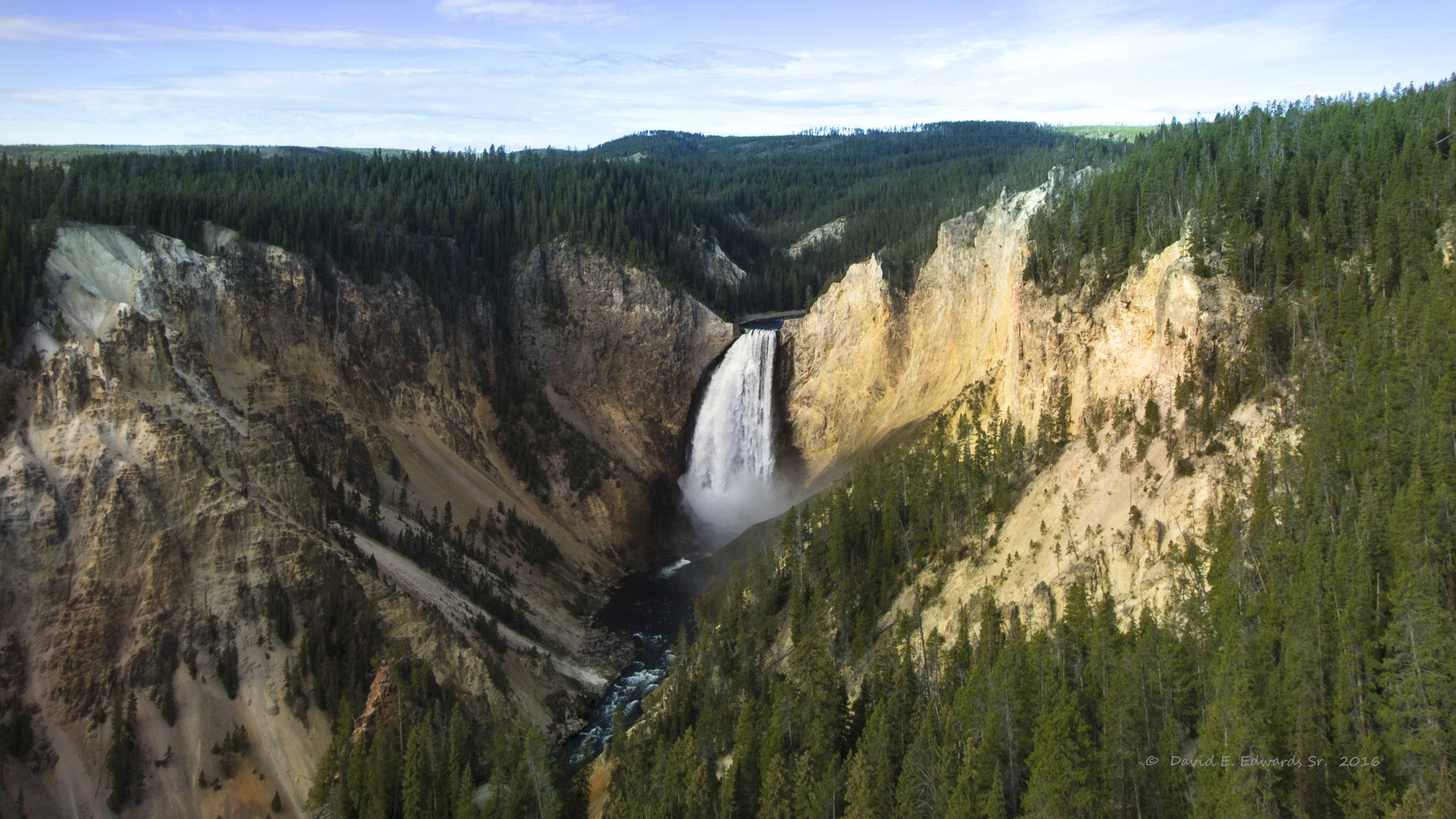 Lower Falls- Yellowstone-  Photo