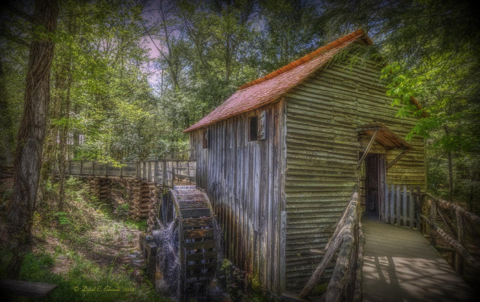 Mill at Cades Cove