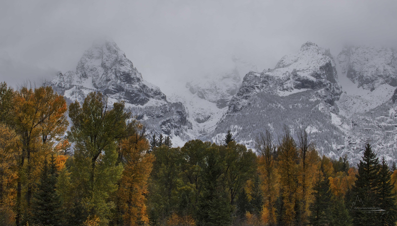 Teton valley colors/Teton Mountains