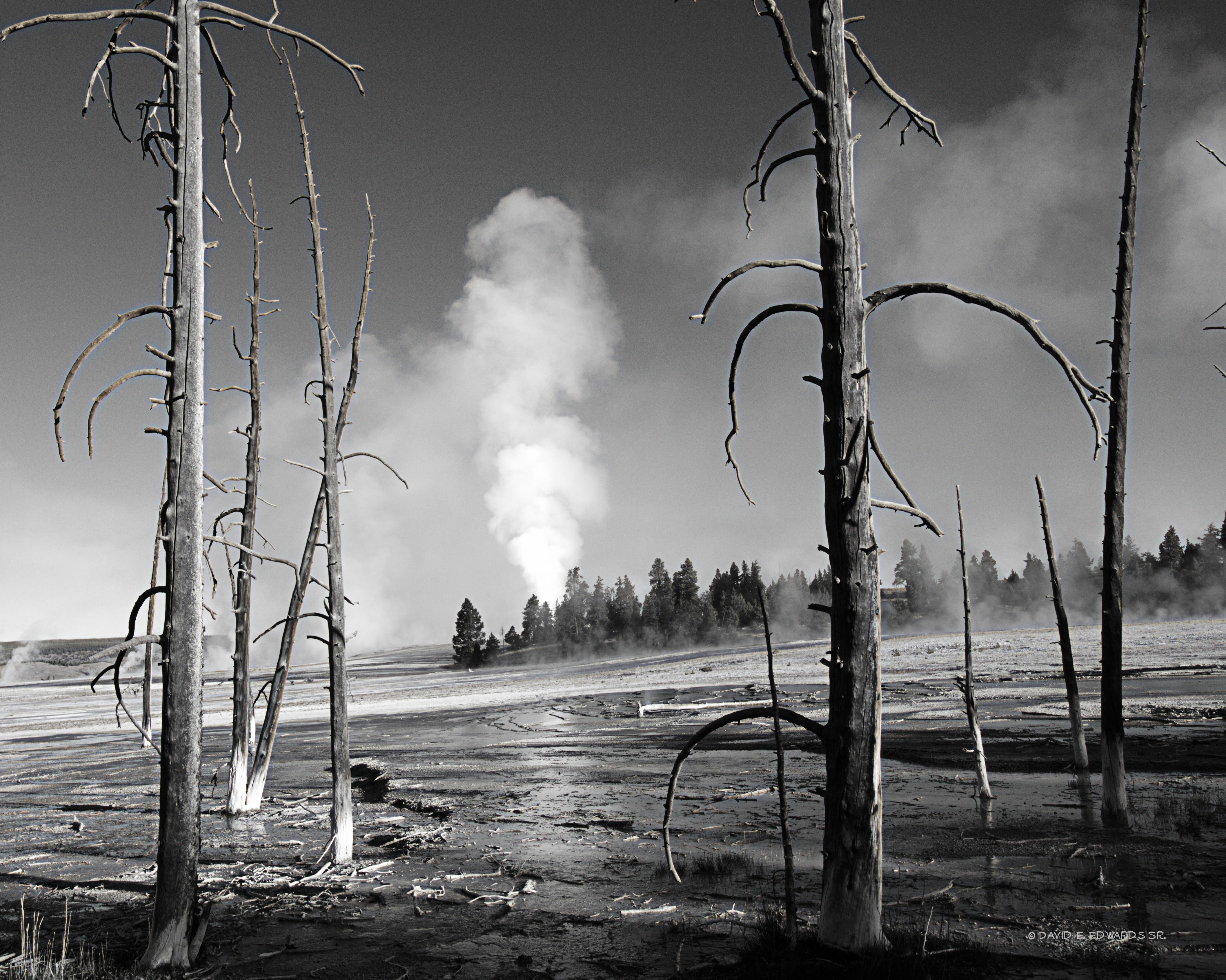 B&W Geyser Basin- Yellowstone