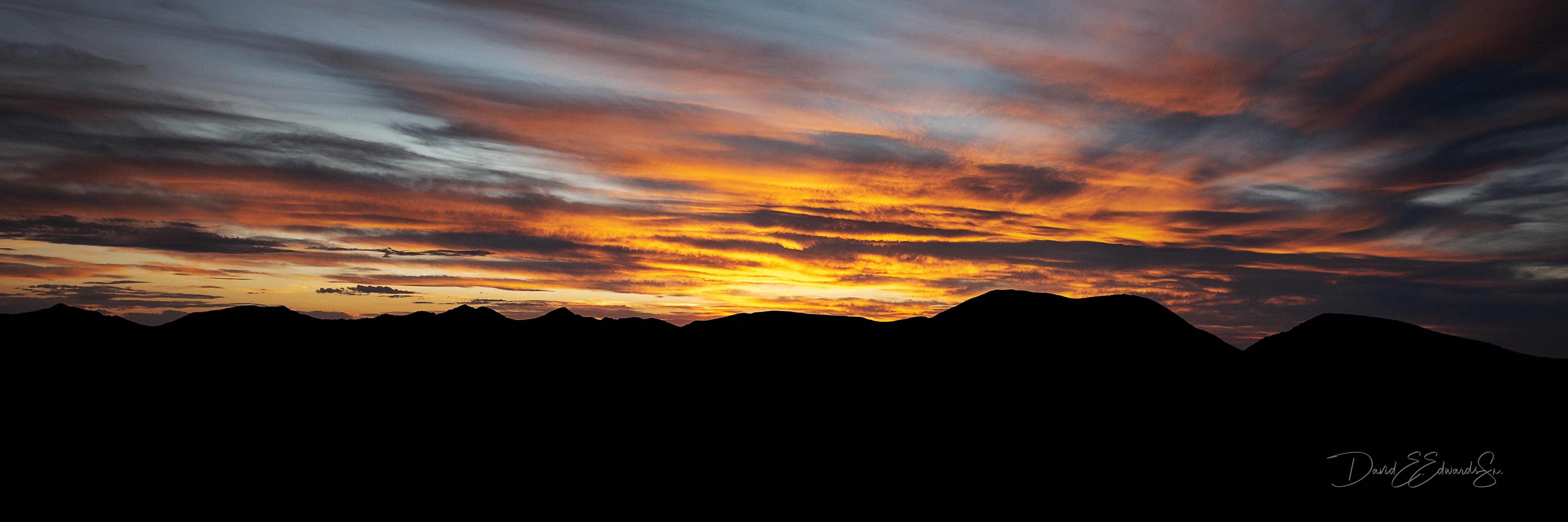 Colorado Fall Sunset