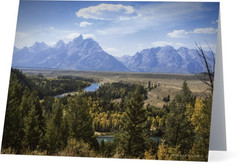River with Teton view
