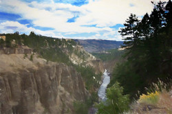 Yellowstone-  River View