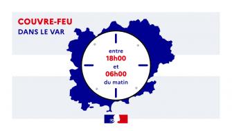 Couvre-feu à 18h à partir du 12 janvier 2021