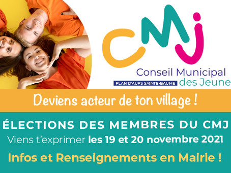 Elections du CMJ les 19 et 20 novembre
