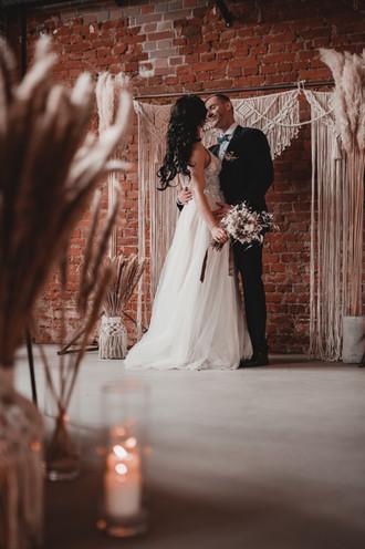 Bohohochzeit Industrialwedding