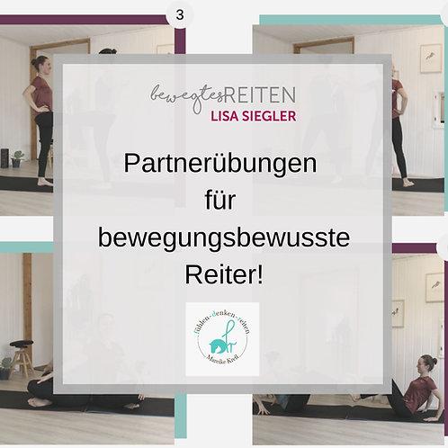 Partnerübungen für bewegungsbewusste Reiter