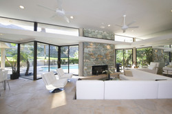 Cantilevered Ceiling