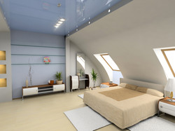 Angular Plaster Walls and Recesses