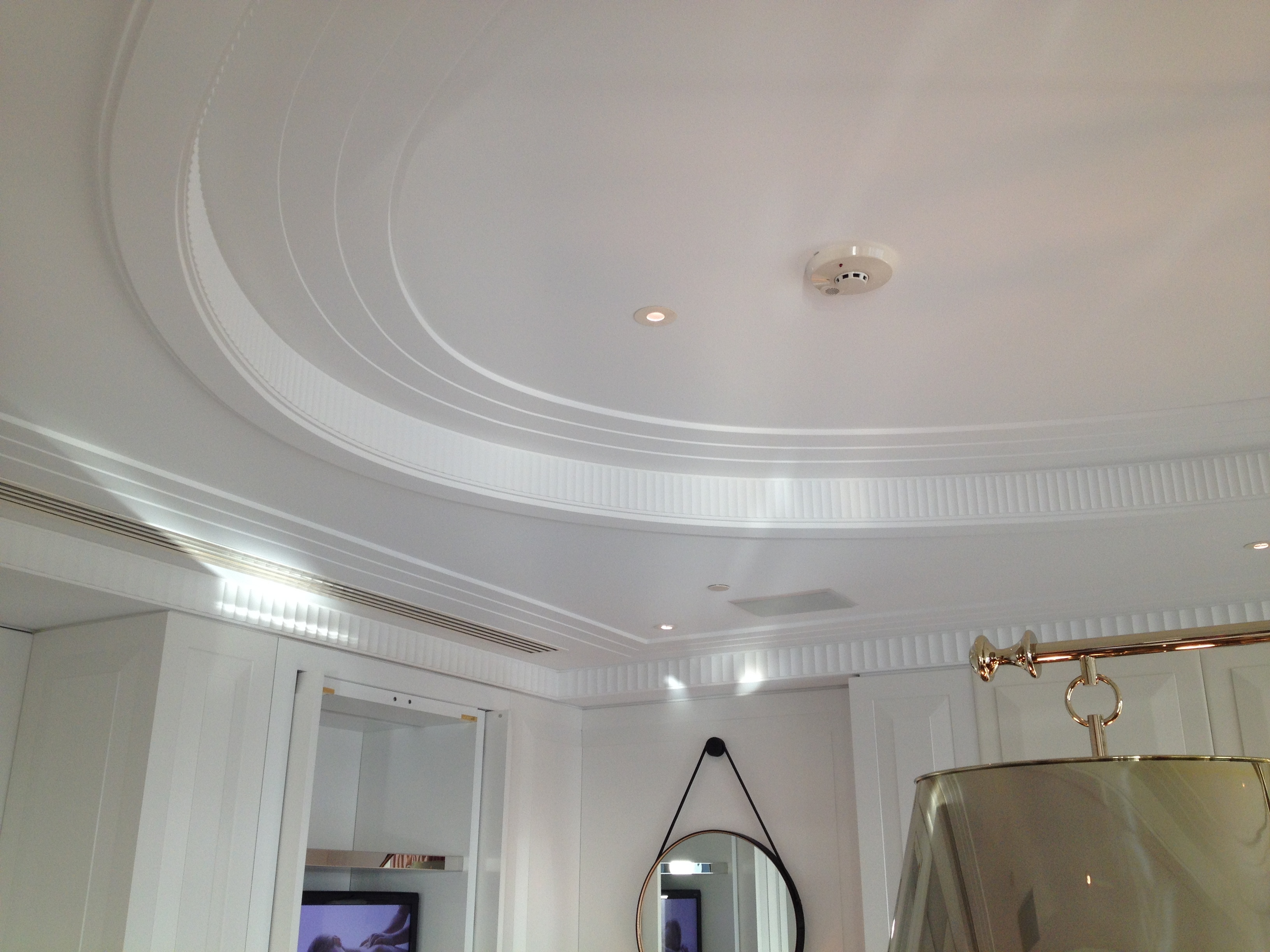 Custom Curved Ceiling