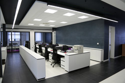 Plastering Office Wall Partitions