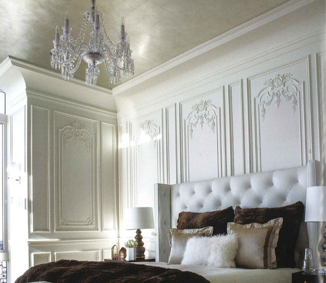 Traditional French Paneled Walls