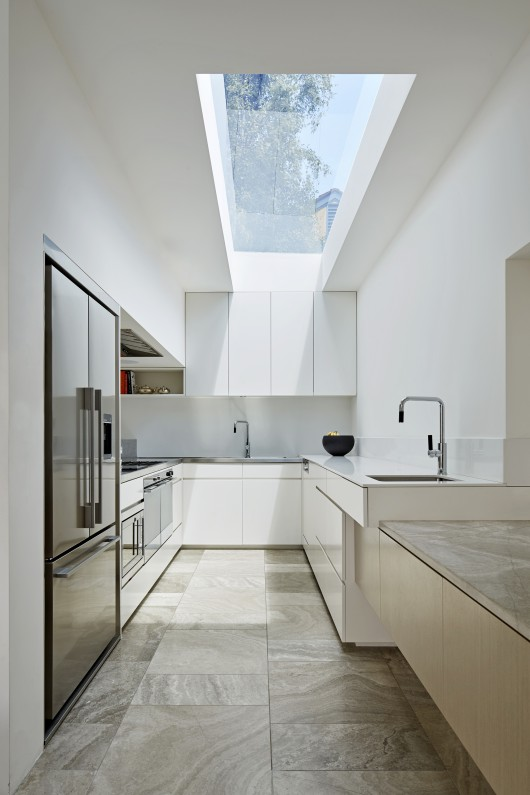 Glass Skylight Opening