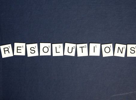 A WRITER'S GUIDE TO NEW YEAR'S RESOLUTIONS Part One