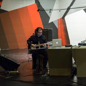 Sergio at Nuova Consonanza Festival
