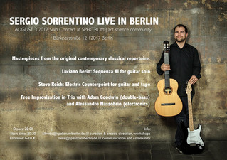 SERGIO LIVE IN BERLIN